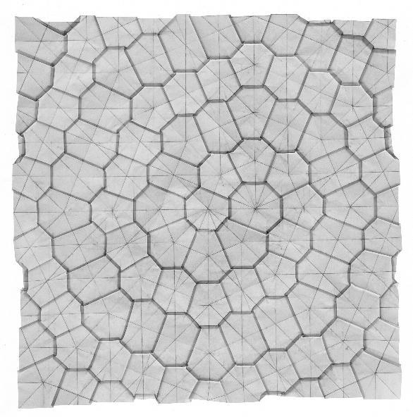 Paper Mosaics Origami Tessellations
