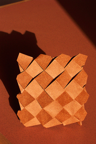 Paper Mosaics Origami Tessellations